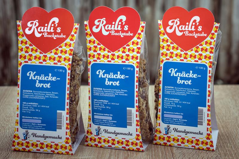 Raili's Backstube Knäckebrot
